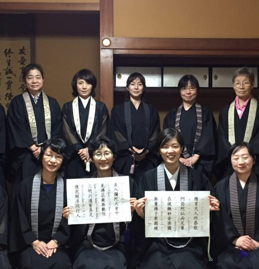 お取り越し報恩講に向けて、女性僧侶の習礼が始まりました!