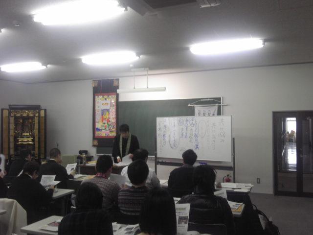 江馬さんの講義風景