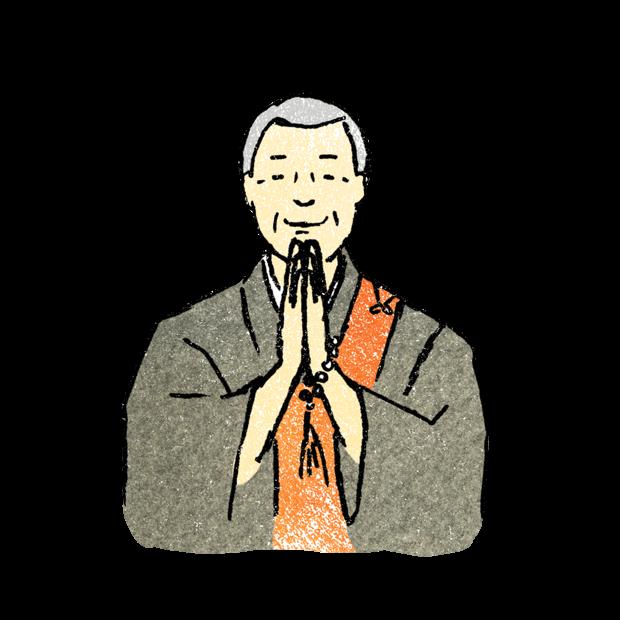 住職(じゅうしょく)